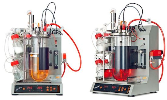 control caudal bio reactores