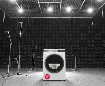 Dewesoft acustica lavadora