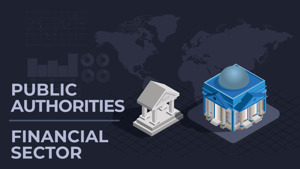 Public authorities and financial sector