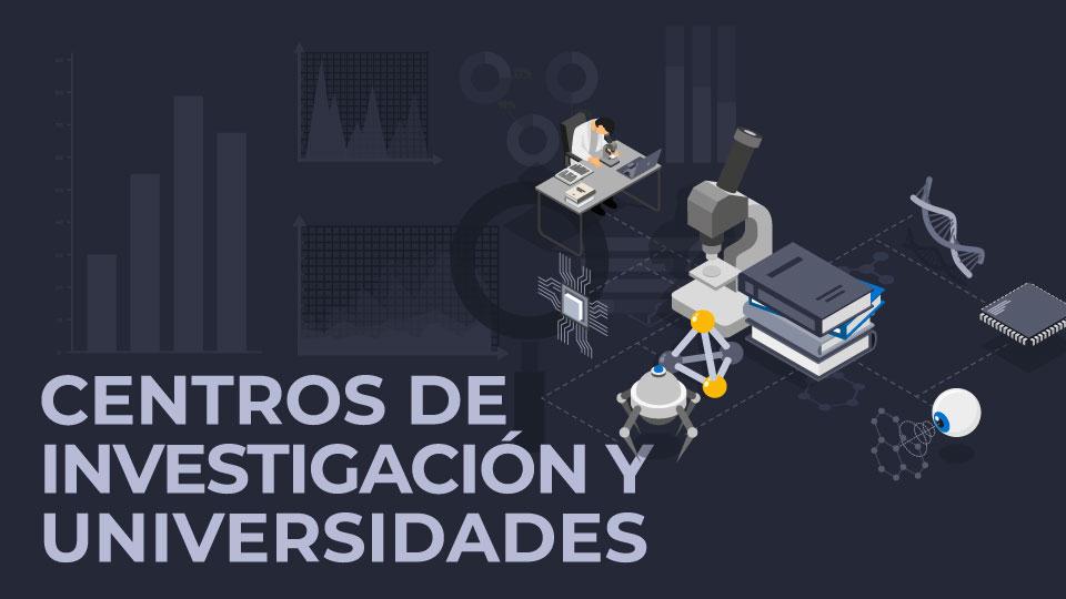 La tecnología en la industria - Centros de Investigación y universidades