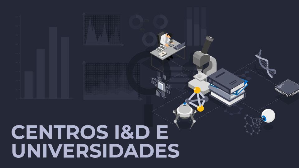 Centros de I&D e Universidades